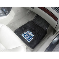 "Fan Mats Old Dominion 2 Piece Vinyl Car Mat Set 18""X27"""