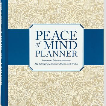 Peace of Mind Planner GJR SPI