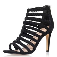 **Honey Black High Heel Sandals By KG Kurt Geiger - Shoes