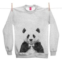 Street Market — Ohh Deer - Zhu - Grey Sweater By Jamie Mitchell