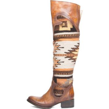 ONETOW Freebird by Steven for Women: FB-SUN Cognac Boots