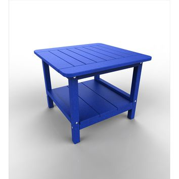 Malibu Outdoor Living Recycled Plastic 24IN. Square End Table