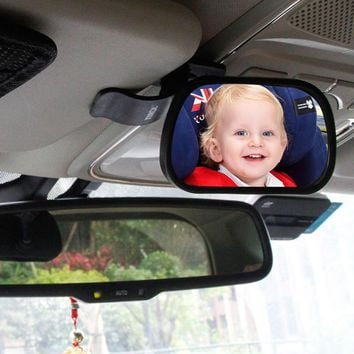 1Pcs Car Back Seat Baby View Mirror Safety Rear Ward Facing Monitor Safety Reverse Safety Seats Basket Mirror