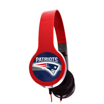 New England Patriots Headphones 2015 sp