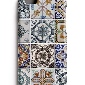 Portugal Azulejo Morocco Tiles iPhone 7 Case