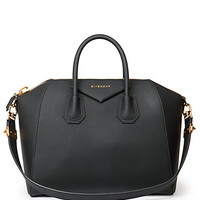 Antigona Medium Faux-Leather Satchel