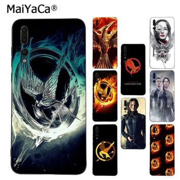 MaiYaCa The Hunger Games movie Logo phone accessories cover case for Huawei P9 10 plus 20 pro mate9 10 lite honor 10 view10 case