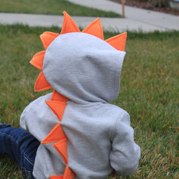 Dinosaur Spike Hoodie- Infant/Toddler