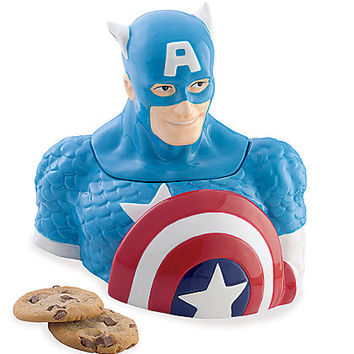 captain america® cookie jar