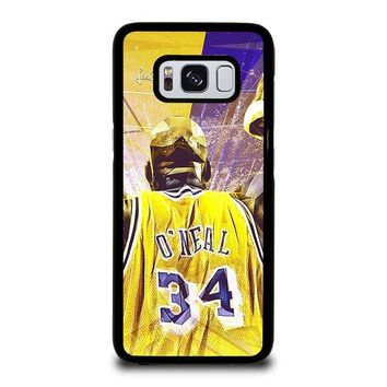 SHAQUILLE O'NEAL LA LAKERS Samsung Galaxy S3 S4 S5 S6 S7 Edge S8 Plus, Note 3 4 5 8 Case Cover