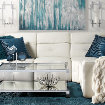 Cerulean Milan Living Room Inspiration look on @ZGallerie