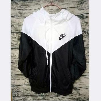 NIKE men and women tide brand casual sportswear jacket coat windbreaker sportswear