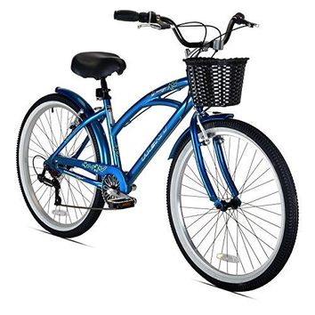 Kent Bay Breeze 7-Speed Women's Cruiser Bicycle, 26-Inch