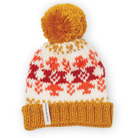 Goldenrod Becks Junior Beanie
