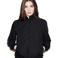 Fred Perry - Reissues Classic Harrington Jacket Black