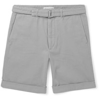 Officine Generale - Julian Cotton-Twill Shorts