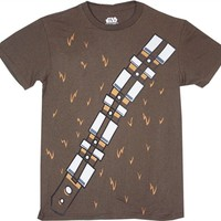 Star Wars Chewbacca Costume T-Shirt | Vintage Movie T-Shirt