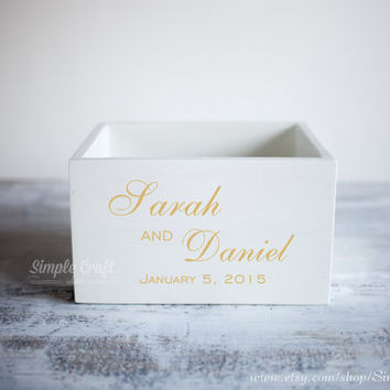 Gold wedding wishes box wedding wishes cards box wedding advice cards advice for new parents bridal shower invitations wedding advice box