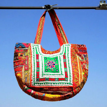 tribal bags Banjara Bags ethnic bags/ cotton bags/ antique bags coin bags gypsy bags patch work bags bohemian tote bags embroidery bags
