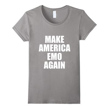 Make america emo again tshirt