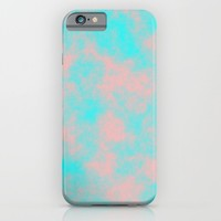 Cotton Candy Clouds - Pink & Blue iPhone & iPod Case by Moonshine Paradise | Society6