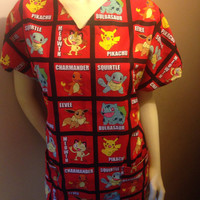 Pokemon Medical Scrubs
