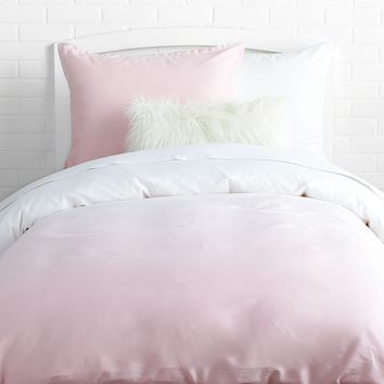 Pink Ombre Duvet Cover and Sham Set