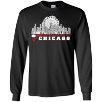 Chicago Hockey Skyline LS Shirt