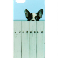 Peeking Pup iPhone 5 Case - Multi