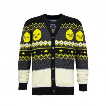 Lemongrab Knit Cardigan
