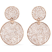 Ippolita - Glamazon® Stardust 18-karat rose gold diamond earrings