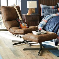 Trailblazer Maverick Swivel Lounge Chair & Ottoman
