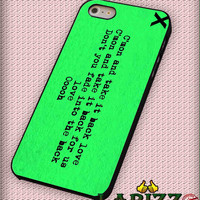 "ed sheeran logo green for iPhone 4/4s, iPhone 5/5S/5C/6/6+, Samsung S3/S4/S5 Case ""08"""