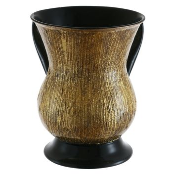 Stainless Steel Washing Cup hammered Copper Plated