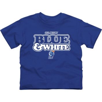 Coast Guard Academy Bears Youth Our Colors T-Shirt - Royal Blue