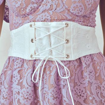 Poppy Corset Belt – For Love & Lemons