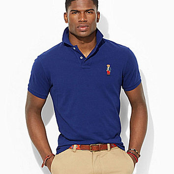 Polo Ralph Lauren Custom-Fit Polo Bear Mesh Shirt - Fall Royal