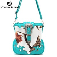 Snow Camo Crossbody Purse