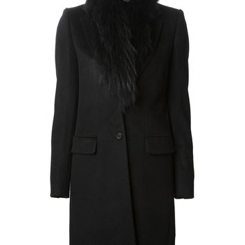 Joseph fur collar coat