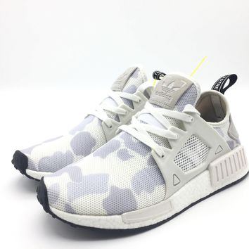 "ADIDAS NMD XR1 ""DUCK CAMO White-Core Black"" (Original Boost) - Euro 40.5"