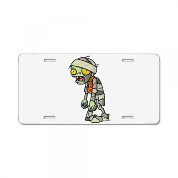 plants vs zombies License Plate