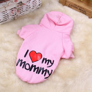 Warm Pet Dog Clothes Small Dog Coats Jackets Winter Dogs Pets Clothing Yorkies Chihuahua Clothes 10cY15