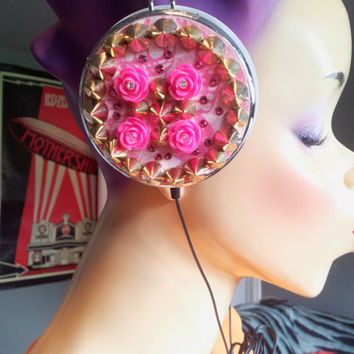 Studs and Roses Headphones