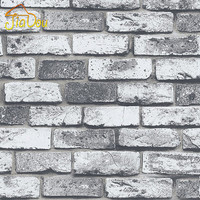 Modern Vintage Brick Stone Room Wallpaper Mural 3D Vinyl Waterproof  Embossed Wall Paper Roll Papel De Parede Home Decor 10M