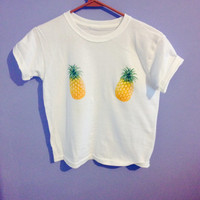 Childrens Hello pineapple tee shirt
