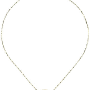 "Kendra Scott ""Glam Rocks"" Elisa Iridescent Drusy Pendant Necklace"