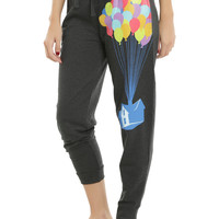 Disney Up Balloon House Jogger Pants