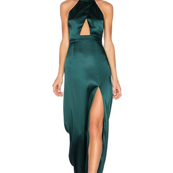 NBD x REVOLVE Zendaya Dress in Dark Green