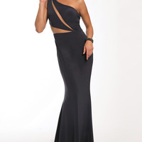 Matte Jersey Fitted Dress 21454 - Prom Dresses