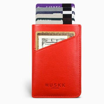 Card Sleeve Case / Red